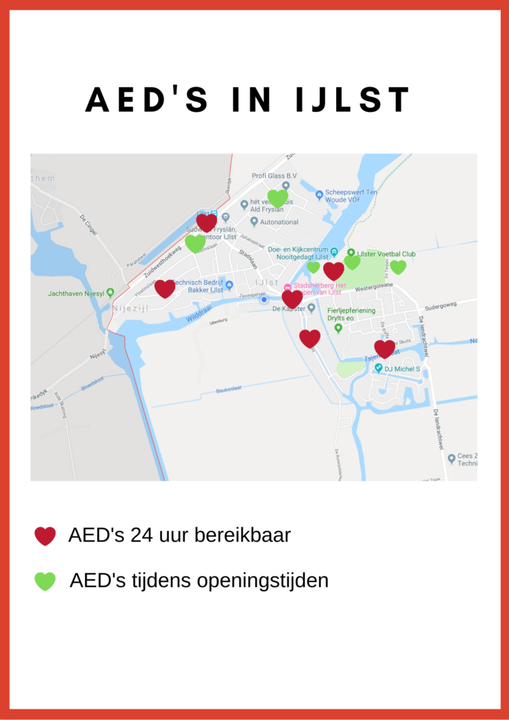 Kopie van AED's IJlst